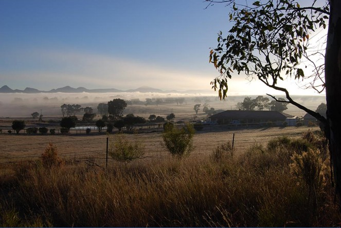Sister town Rylstone captured by my father-in-law Marcus
